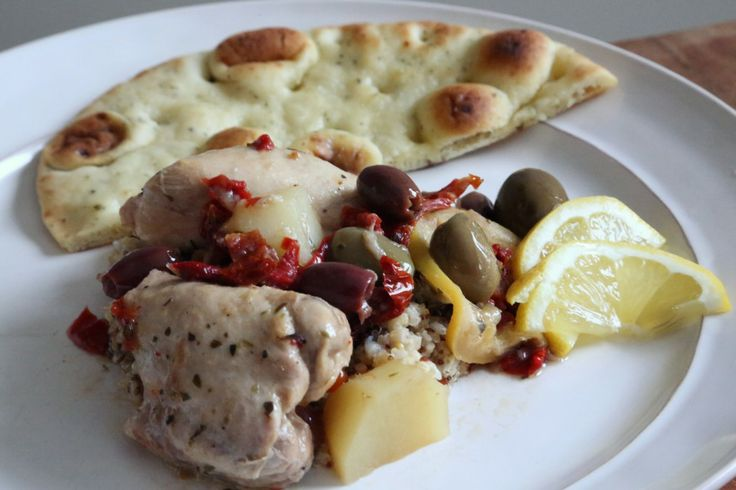 Moroccan Chicken with Lemon and Olives | Cashmere & Camo Recipes | Pi ...