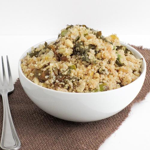 Lemon and Garlic Vegetable Quinoa