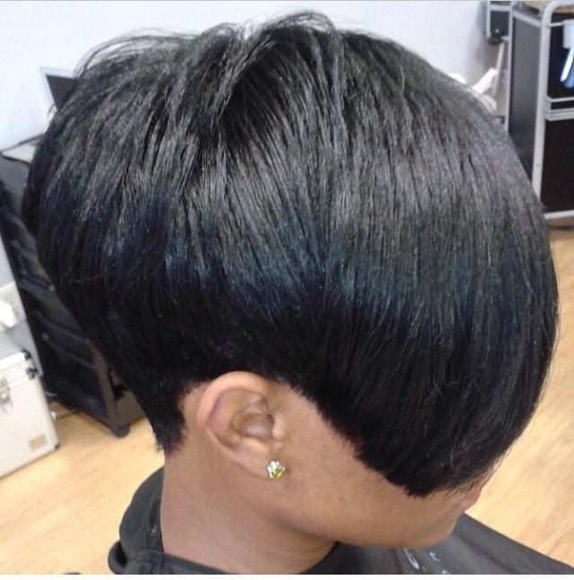 Salon Haircut : Precision haircut /Black Women Hairstyles by Salon Pk Jacksonville ...