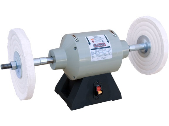 wheel buffing machine