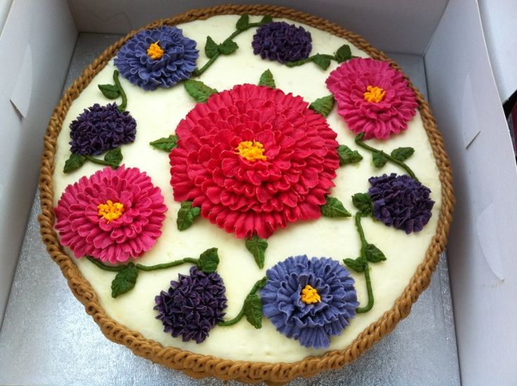 Cake Decorating Buttercream Ideas : cake decorating ideas Dessert Decoration Ideas Pinterest