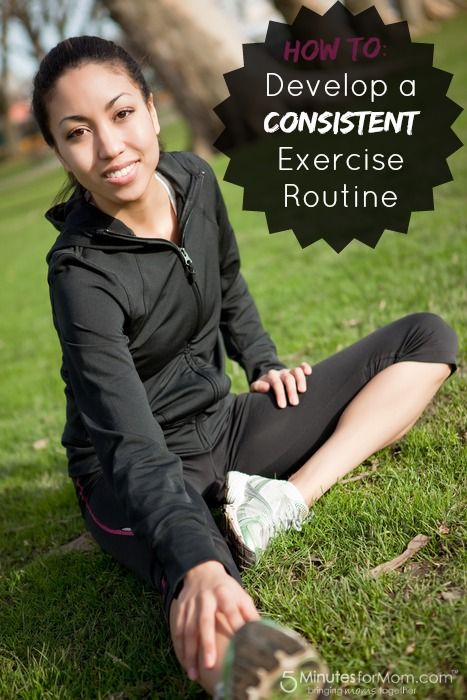Ask the Domestic Life Stylist: Develop a Consistent Exercise Routine. #fitness #health #exercise