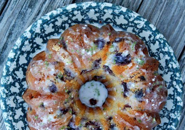 Cherry- Limeade Pound Cake   Recipe