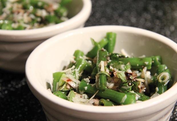 Green Bean Salad with Basil, Balsamic & Parmesan | Goode Food