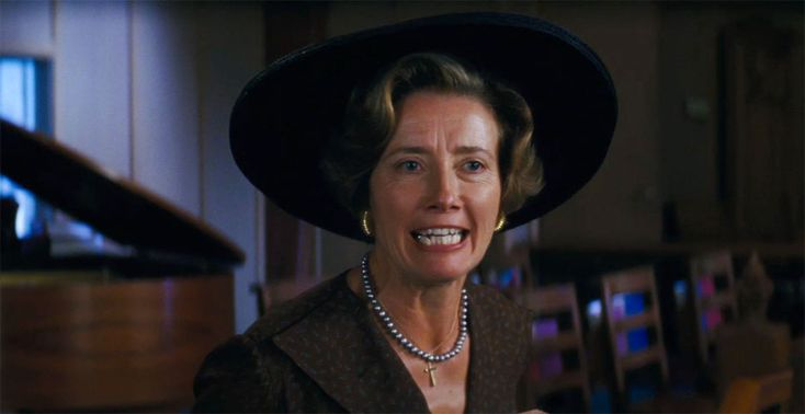 Emma Thompson as Mrs. Lincoln/Sarafine in Beautiful Creatures