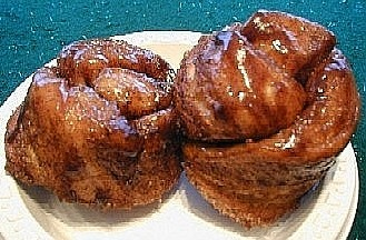 These look like the Cinnamon knots from Granite Bakery, so delicious!