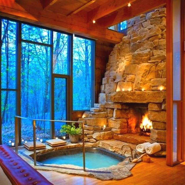 Foto Hot tub pinterest