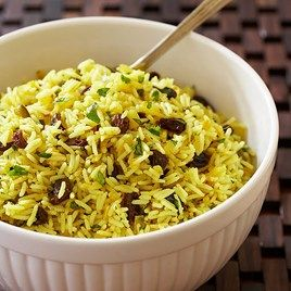 Curried rice salad (everday food FFF) uses, curry powder, limes ...