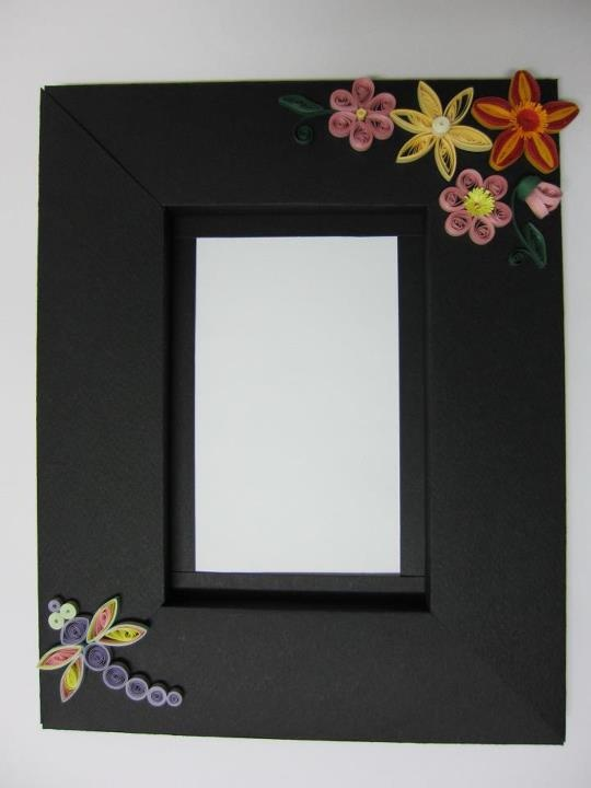 quilled frame | Crafts - cards (quilled) | Pinterest