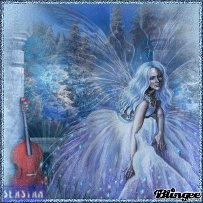 12 21 10 blue winter fairy tags blue fairies fairy landscape winter