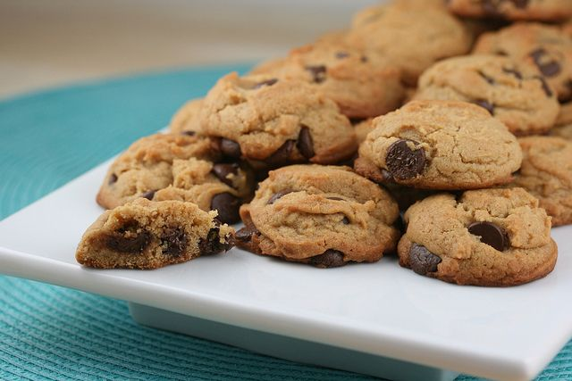 Peanut Butter-Chocolate Chunk cookies | Cookies | Pinterest