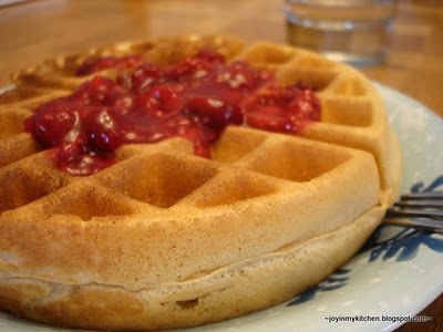 Aretha Frankenstein's Waffles Of Insane Greatness Recipe — Dishmaps