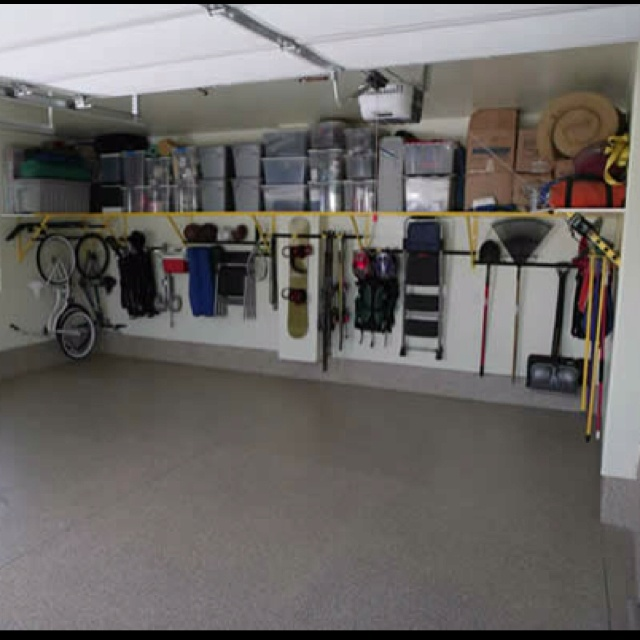 Garage organization | storage ideas | Pinterest