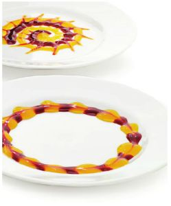 Mango & Raspberry Dessert Sauces #mango #raspberry #sauce