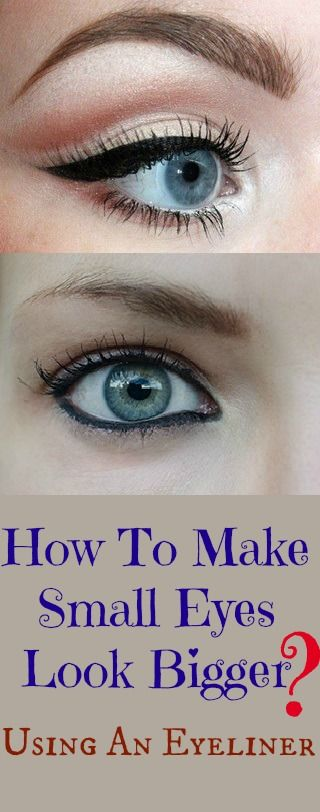 How to make eyes bigger with makeup