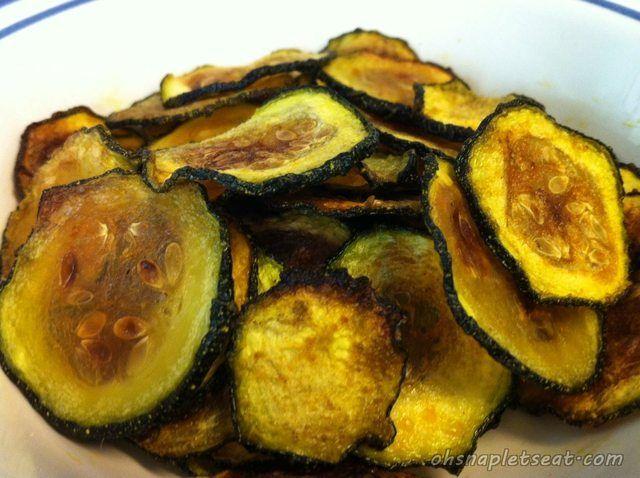 paleo Baked Zucchini Chips: Zucchinis (1 zucchini makes about a ...