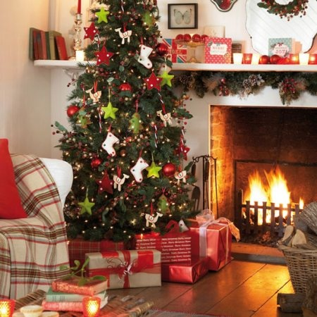 Country Christmas Decorating Christmas Pinterest