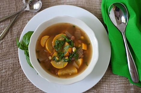 Easy Summer Squash Soup