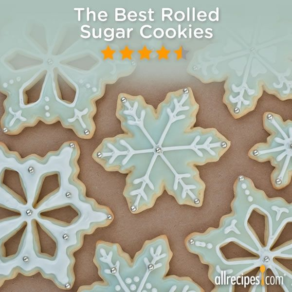 ... Repin for your holiday cookie baking. (The Best Rolled Sugar Cookies