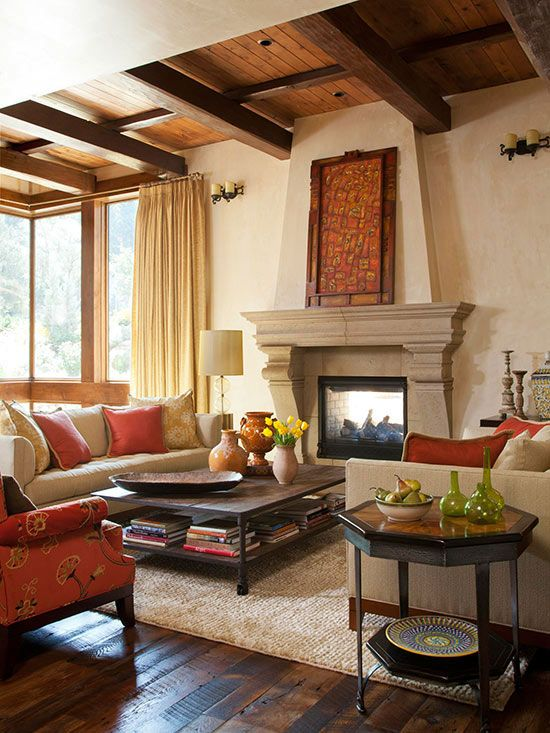 Tuscan decor - Good colors for living room and kitchen ...