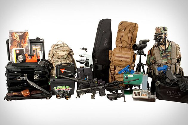 Z.E.R.O. Kit.  everything you may need for zombie survival...only $24,000