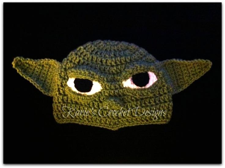 Crochet Yoda Hat : Crochet Hats