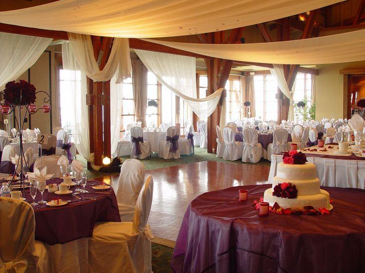 Simple indoor wedding reception ideas mr and mrs dyer for Indoor wedding reception decorations