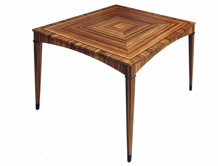 Zebra Wood Tables Np Fine Art Furniture Pinterest