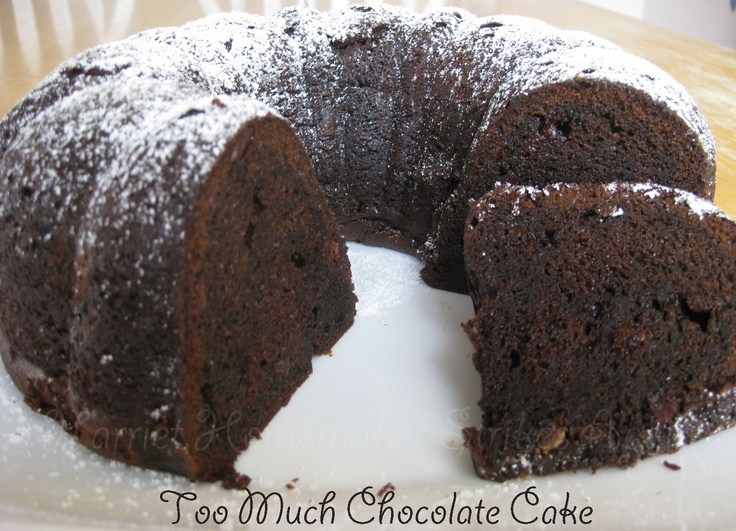 ... Tuesday: Too Much Chocolate Cake | Death by Chocolate! | Pinter