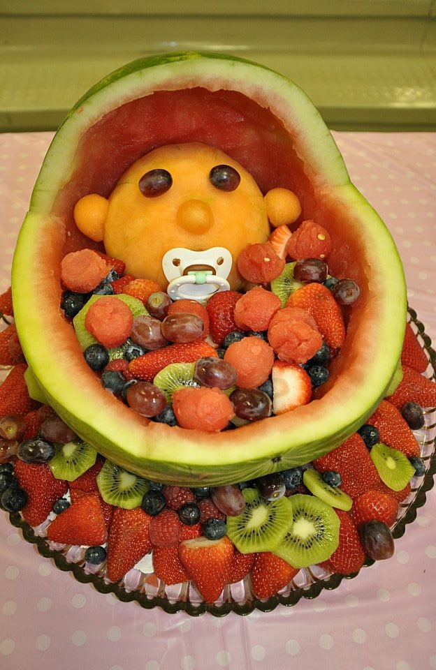 baby shower fruit salad kids one day pinterest
