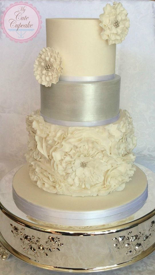 White Silver Cake