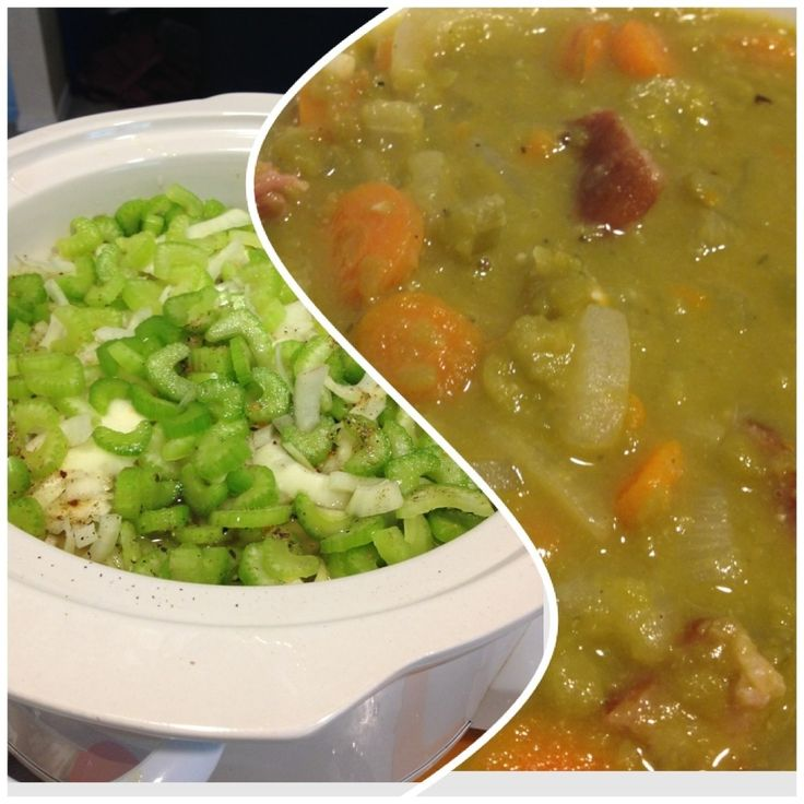 Slow cooker Split Pea Soup « Cooklandia – Cooking in the Northwest