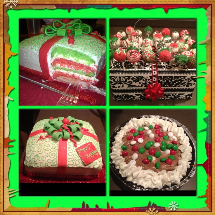 Christmas desserts yum pinterest for Pics of christmas desserts
