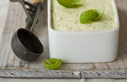 Basil ice cream | Food Whore | Pinterest