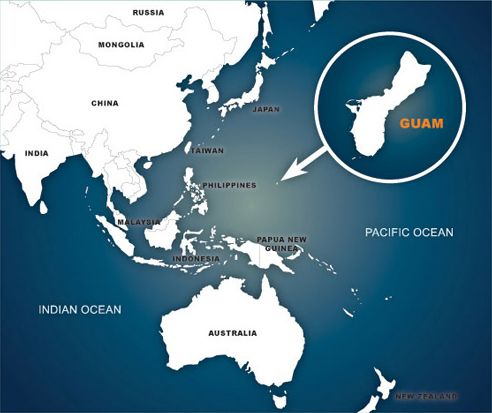 Map of the pacific ocean showing the location of guam inducedfo linkeddeepest part of the ocean deepest ocean trenchwhere is guam where is guam located in the world mapguam national wildlife refuge star cave guam gumiabroncs Images