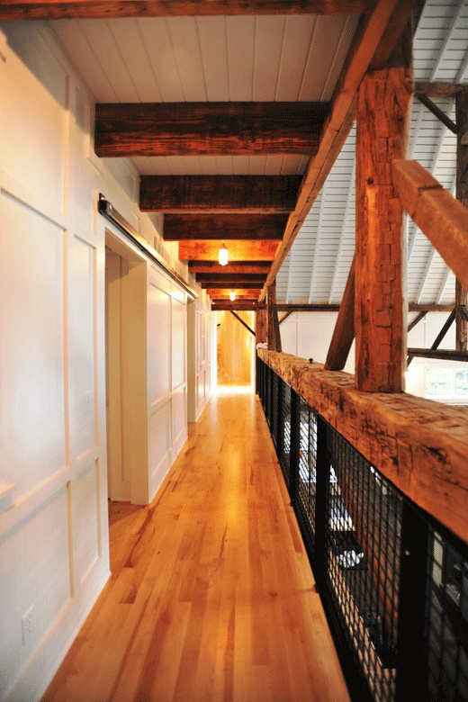 Best Metal Wood Railing Hallway For The Home Pinterest 640 x 480