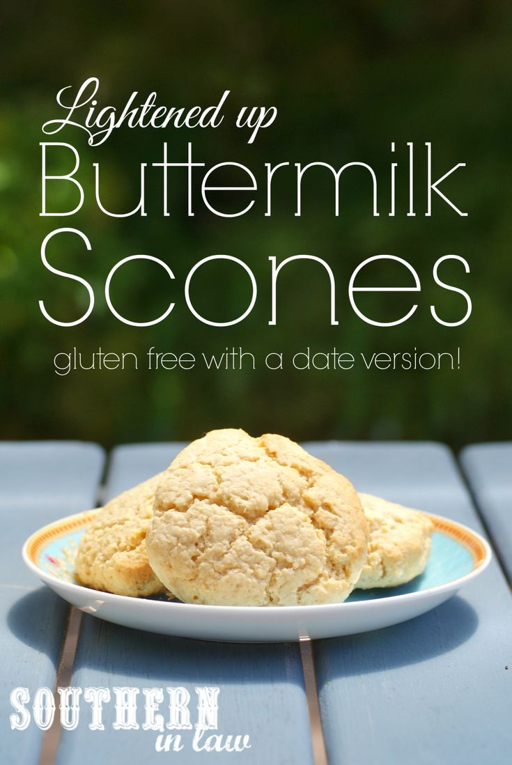 !) - This healthy scone recipe is gluten free, low fat and sugar free ...