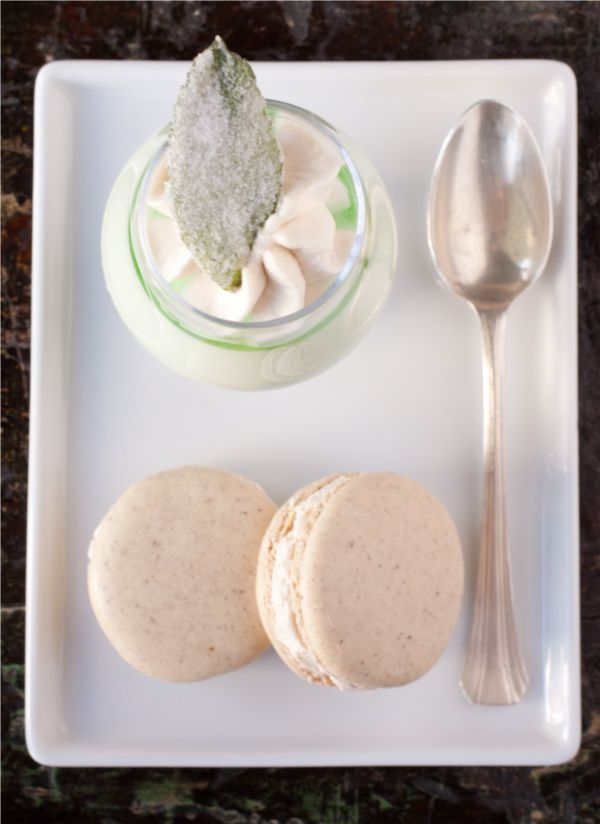 Mint Julep Panna Cotta | sweets | Pinterest