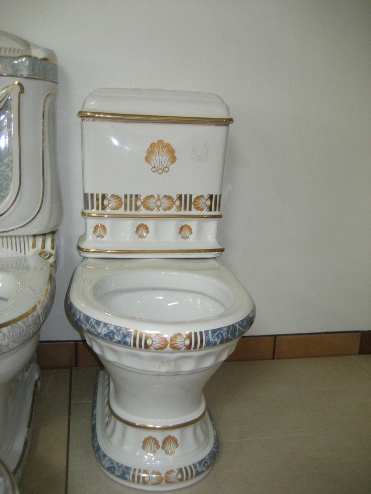Seashell Pedestal Sink : DECORATIVE SEASHELL DESIGN TOILETTE & MATCHING SEASHELL PEDESTAL SINK ...