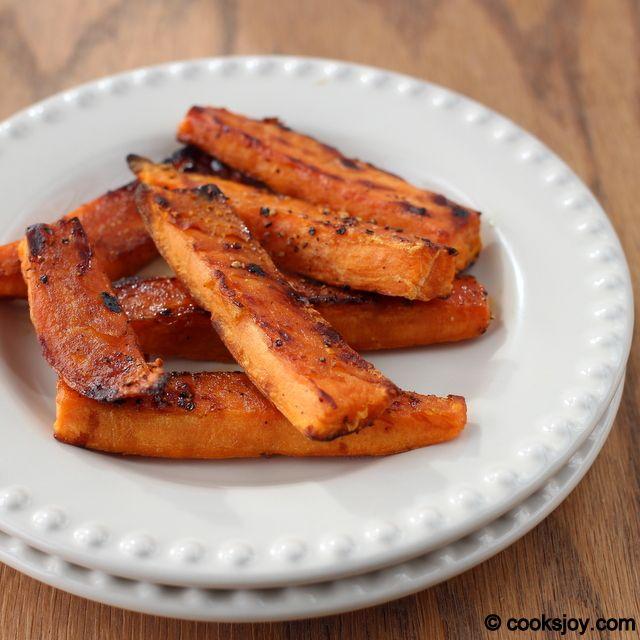 Baked Sweet Potato Wedges | Eating My Veggies | Pinterest
