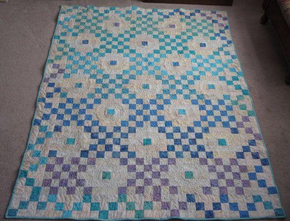 Pdf pattern dotted double irish chain twin sized by skyhighfibers 8