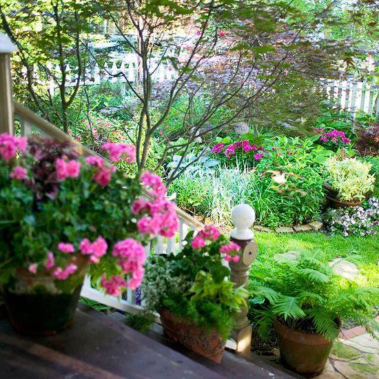 stunning shade garden design ideas select a color theme maximize the