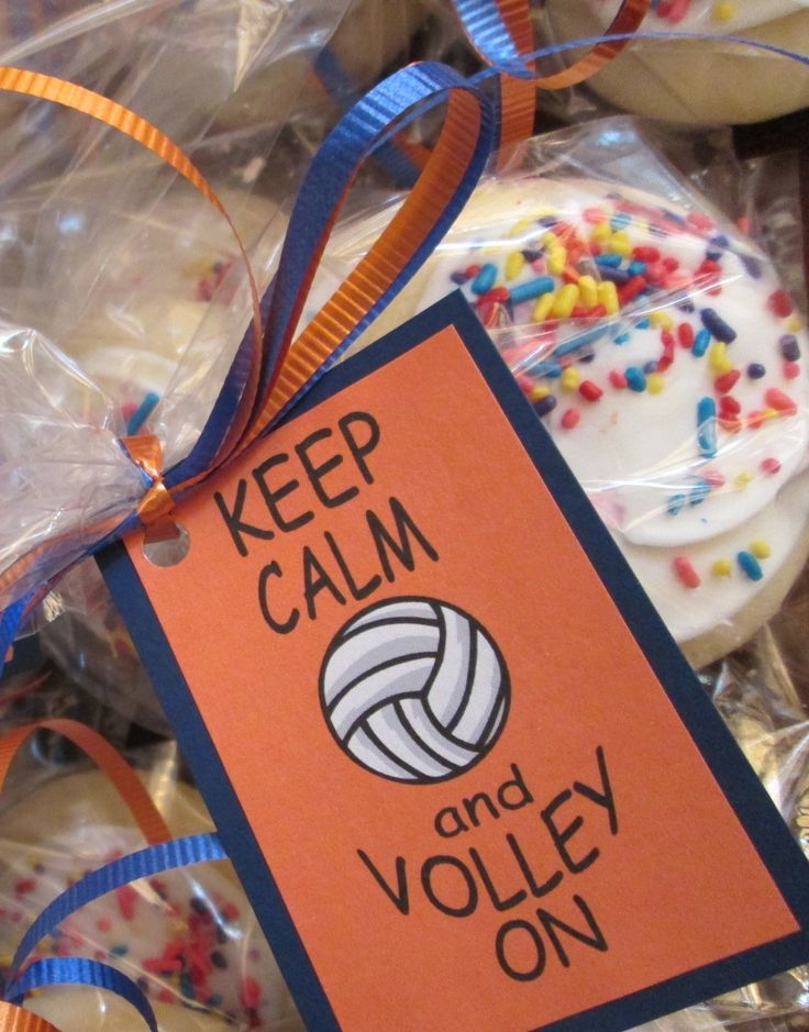 treats for the volleyball team | Grace | Pinterest