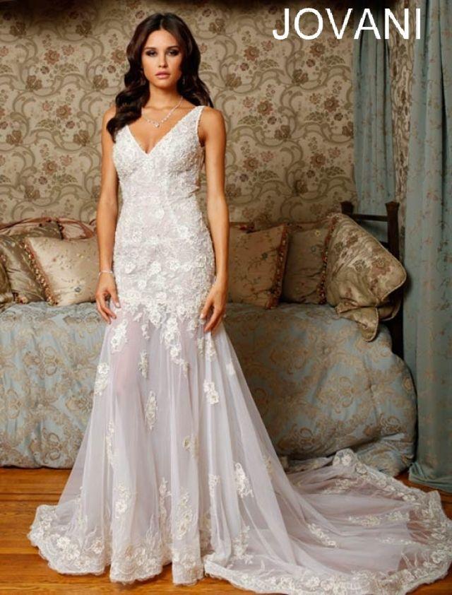 Jovani mermaid wedding dresses : Wedding dressses