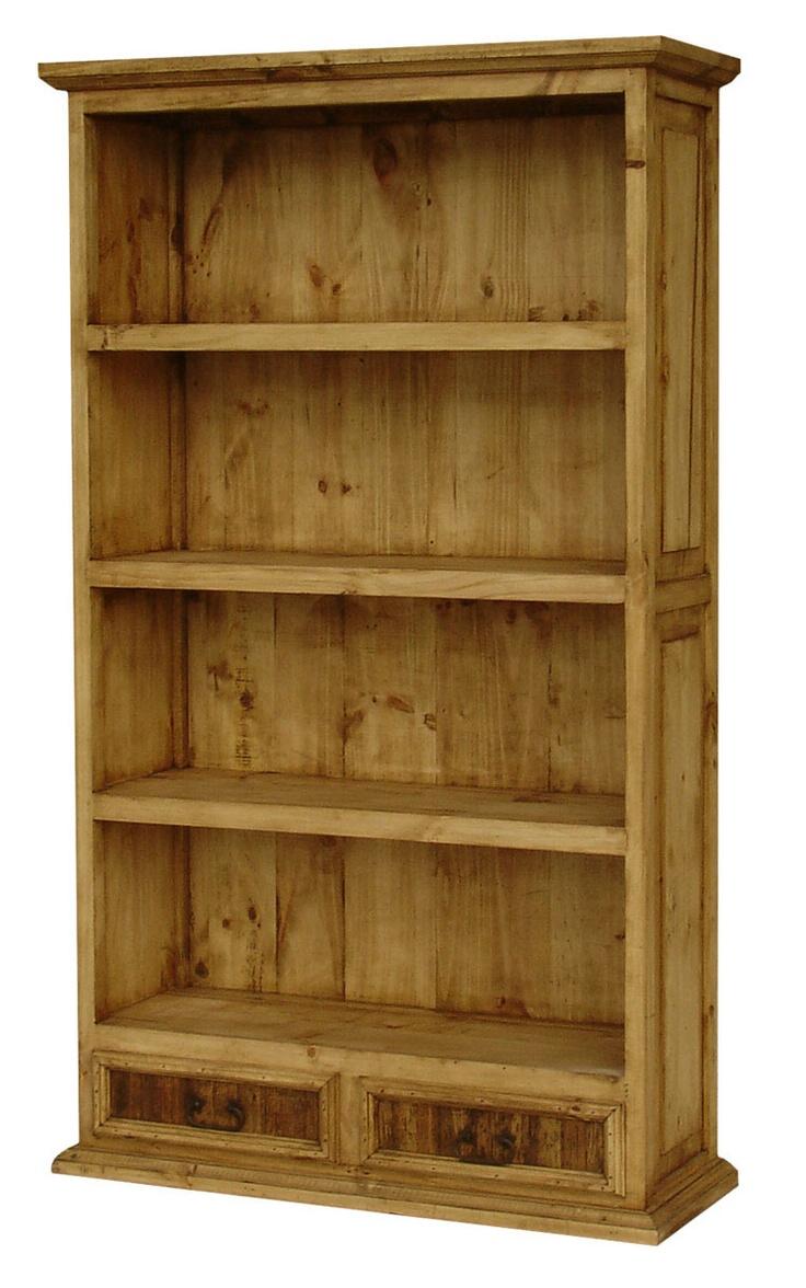 Southwest Pine Bookcase