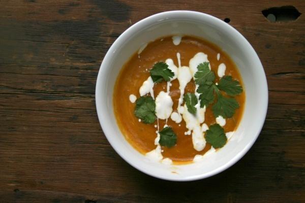 Chipotle Pumpkin Soup | W I N T E R : : K I T C H E N | Pinterest