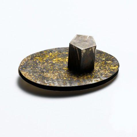 Maria-Rosa Franzin, silver, gold, lodestone