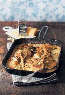... & Home Entertaining | Gratinéed fennel baked in double-thick cream