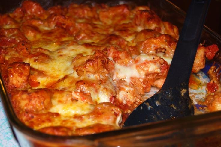 Chicken Bruschetta Bake | What's for dinner? | Pinterest