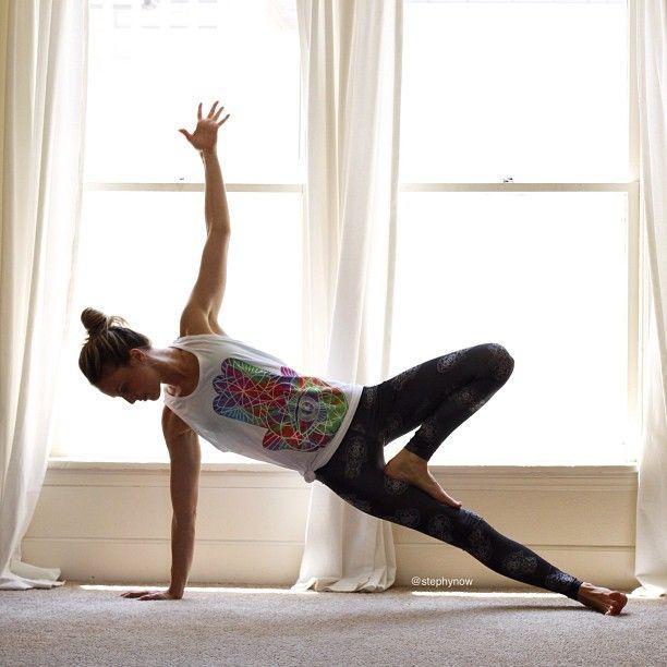 side plank. #yoga | Health & Fitness | Pinterest